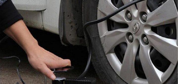 Come si usa il kit riparazione pneumatici
