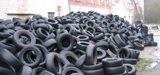 come riciclare pneumatici